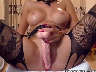 Delicious Big Baps Whore Taunts And Masturbates