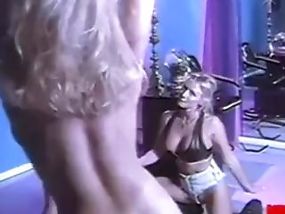 Bruce Seven - Three Perverse Blondes Fuck With Belt Dick