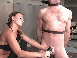 Hot Female Domination Movie Featuring Appetizing Mistress London Sea