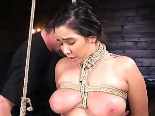 Awesome Daring Hog-tied Nymphomaniac Karlee Grey Is Worth Some Hard Onanism