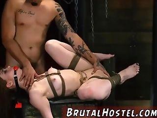Restraint Bondage Faux-cock Stick Sexy Youthfull Dolls, Alexa Nova And Kendall Forest,