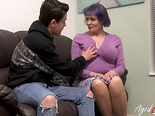 Agedlove Huge-chested Brit Matures Fucks Teenage Boy