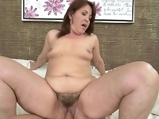 Appealing Bday Woman Fucked In Hairy Cunt By Friend