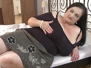 Bbw Black-haired Cougar Knows How To Please Her Friend's Sexual Needs