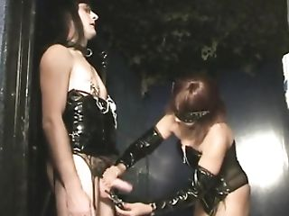 Slave Subordinated Spanked And Manhandled By Her Mistress