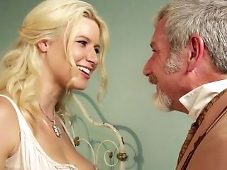 Pretty Call Girl And A Dirty Old Man Fucking In A Hot Scene